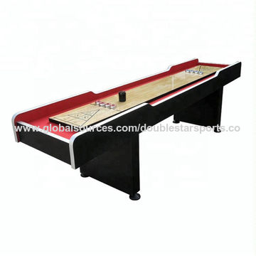China MDF Standard Solid Wooden Playfield Shuffleboard Table SZX - Standard shuffleboard table