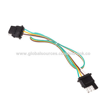 Trailer Light Wiring Harness Extension 4-pin Plug 18 AWG ... on
