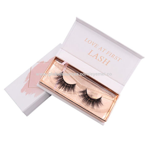 3f4a2cdee15 China Private Label Custom Eyelash Packaging, 100% Real Mink Fur Lash  Package ...
