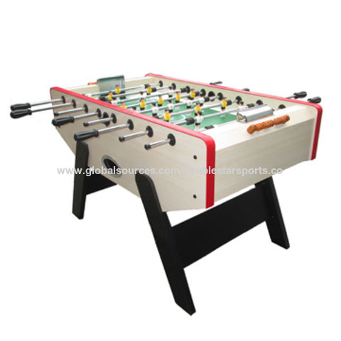 China High Quality Foldable Wooden Soccer Table, Best Price Foosball Table  ...