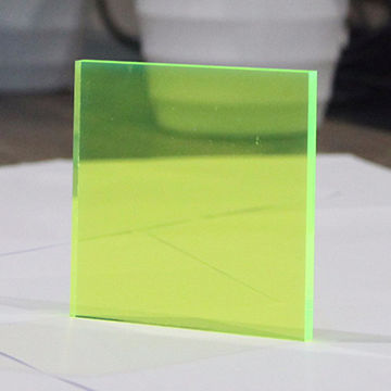 China Fluorescent color Acrylic sheet from Shenzhen Wholesaler ...