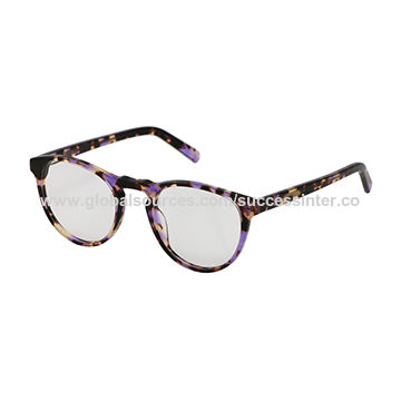 24d86001c4e China 2018 women s new fashion glasses optical frames with acetate ...