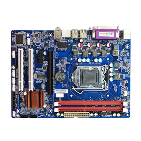 China Esonic motherboard H55KCL support 1st generation CPU