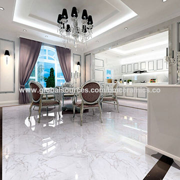 China White Marble Floor Tile From Foshan Manufacturer