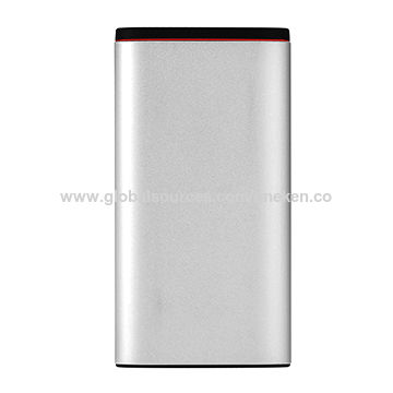 293a8932a72982 China USB Connected Power Bank Battery Backup 20000mAh Portable Phone  Battery Charger ...