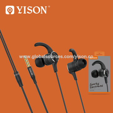 81095e94dc8 Yison Super Bass Sports In-Ear Earbuds EX230 Stereo Wired Headphones with  Mic for cell phone