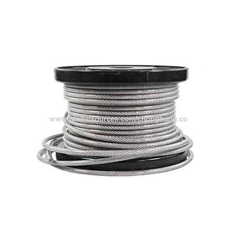 """Marine Fishing 500ft Stainless Steel Type 316 Wire Rope 7x7-1//16/"""" Cable"""