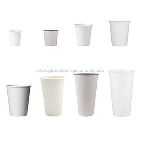 China Biodegradable and disposable paper cups, PE lining