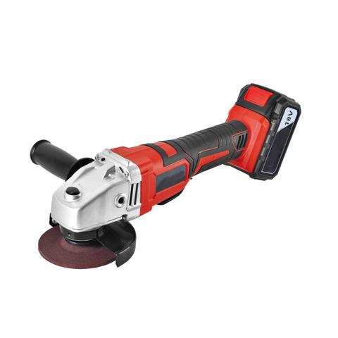 China Cordless electric angle grinder on Global Sources