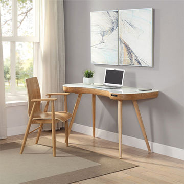 China Innovative Computer Desk with Wireless speaker Charger USB Port Multifunction Work Table