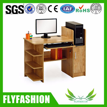 China School Furniture Computer Table Simple Design Wooden ...