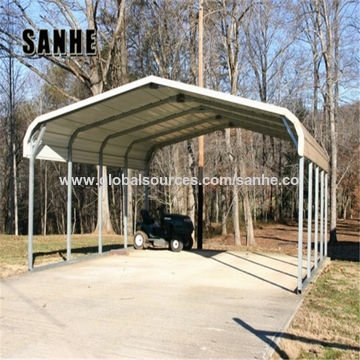 China Cheap Prefab Portable Regular Roof Style Steel Metal Carports Covers For Sale For 1 2 3 Car On Global Sources Metal Carports Steel Carports Carports