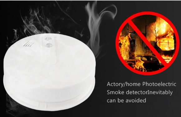 China Photoelectric Smoke Deter Fire Wireless Alarm Detector On