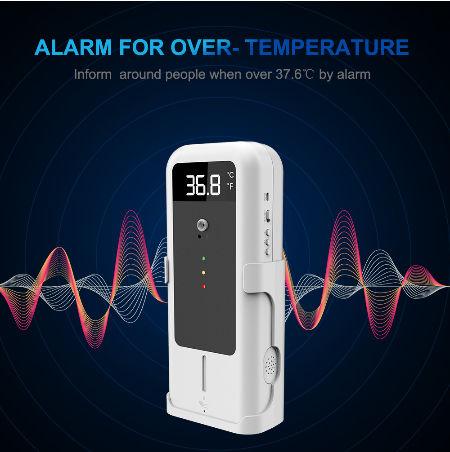 China YAD-001 Wall Digital Infrared Thermometer Non Wash Disinfection Wall Thermometer Smart Thermometer