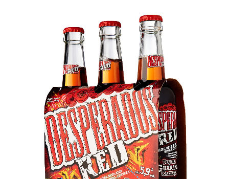 Thailand Desperados Red Guarana Beer 24x33 Cl Can On Global Sources