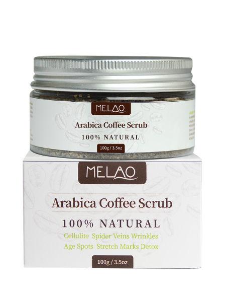 China Oem Manufacturer Exfoliator Body Care Coffee Body Scrub 100g