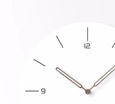 China Arabic Numerals Quiet Art Home Decoration Wall Clocks