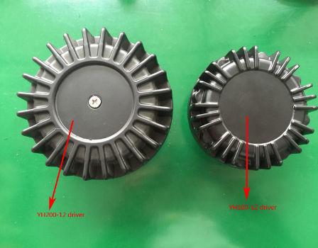 China 100W compact car siren speaker