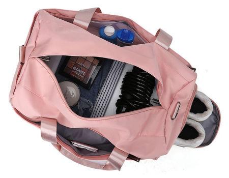 Details about  /Women/'s PINK Gym Duffel Bag Sport Bag