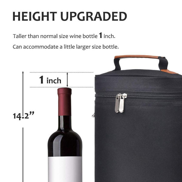China 2 Bottle Wine Carrier Bag Tote Insulated Champagne Tote Bag Waterproof Picnic Box Wine Cooler Bag On Global Sources Cooler Bag Thermal Bag Wine Bag