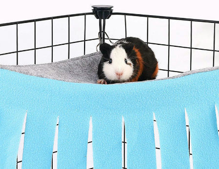Guinea Pig Hammock  Guinea Pig Cage Accessories  Fleece Square Hammock Ready to ship
