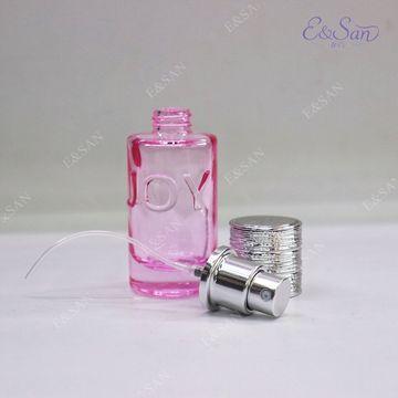ChinaPT365-20ml Straight Round Bottle Shape Customized Gift Empty Mini 20ML Glass Perfume Bottle Color Sp