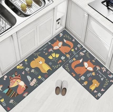 China Oil Proof Waterproof Pu Pvc Door Mat Kitchen Mat On Global Sources Floor Mat Doormat Kitchen Mat