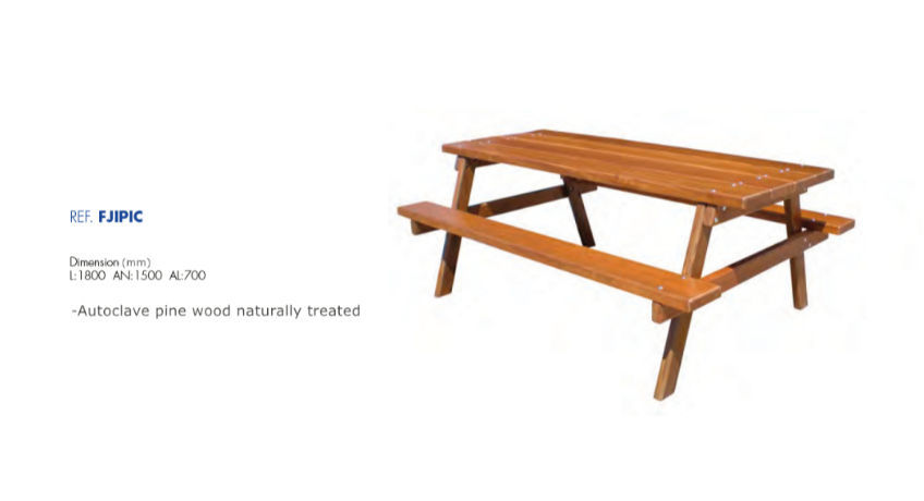 China Natural Wood Bench Chair Public, Wooden Bench Outdoor Table
