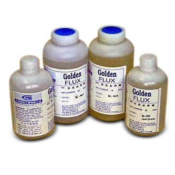 Taiwan Lead Free Solder Flux with Rosin and Water-Soluble Fluxes in a PVC Container