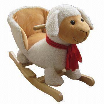 Terrific Plush Rocking Chair Sheep Inzonedesignstudio Interior Chair Design Inzonedesignstudiocom