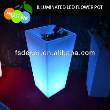 ... China Large Led Flower Potoutdoor Led Garden Lights & Large Led Flower Potoutdoor Led Garden Lights | Global Sources