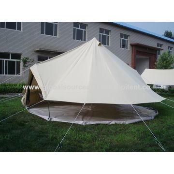 China Canvas Bell Tent for Outdoor Camping