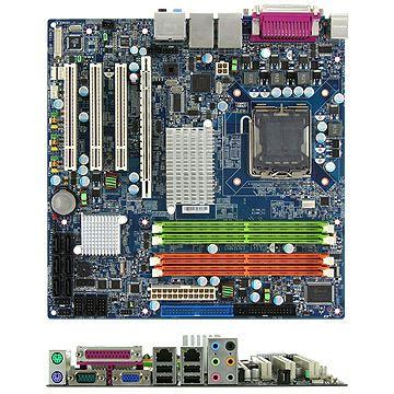 Intel Q965 Chipset Core 2 Quad/Duo 8GB DDR2, TPM, iAMT