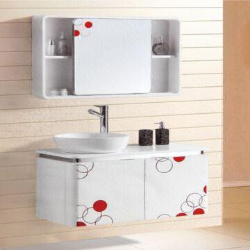 China 2014 High Quality French Style Pvc Bathroom Vanity Units With  Artificial Marble Top