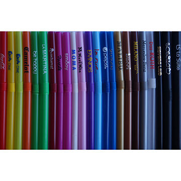 Custom Logo Imprinted Drinking Straws Ideal for Promotional