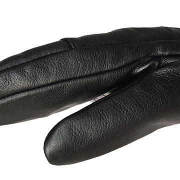 China Cow Leather Water-proof Skiing Mitten Gloves