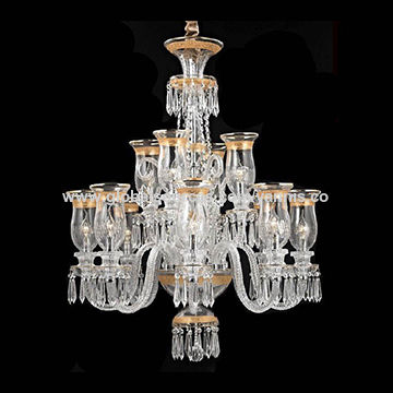 Long silver chain glass gold color european baccarat chandelier european baccarat chandelier china european baccarat chandelier aloadofball Choice Image