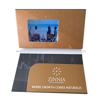 China 24 inch mini lcd video screen brochure from shenzhen china 24 inch mini lcd video screen brochure folded video business card booklet for advertisement colourmoves