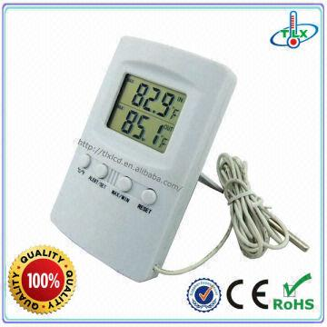 Accurate Indoor outdoor Thermometer Recording Max/Min temp High ...