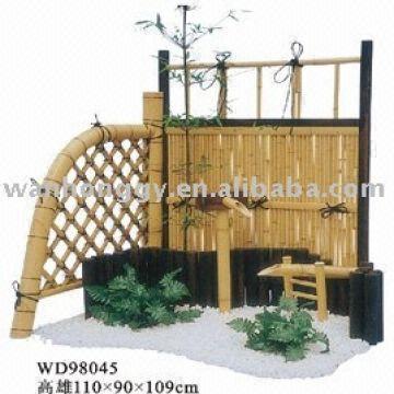Mini Jardín De La Venta Del Arte De Bambú Caliente Del