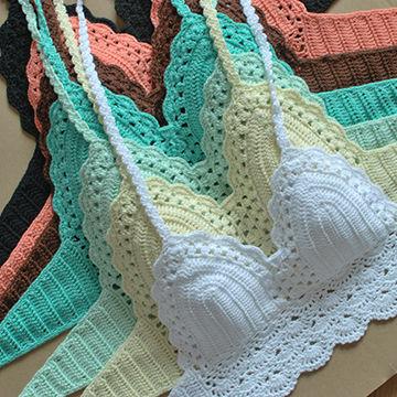 Handmade Crochet Bikini Swimwear Sexy Crocheted Classic Swimsuit