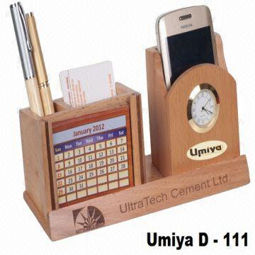 Wooden Desktop Organizer India
