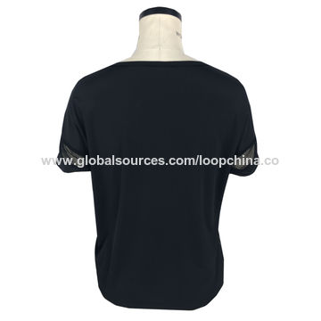 China Women's placement embroidered T-shirts