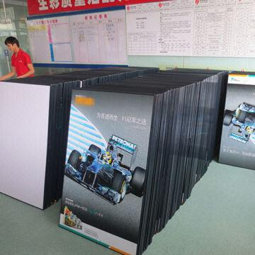 foam board poster printing customized designs accepted 2013 new