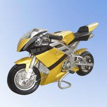 49cc Two-stroke Air-cooled Gas Pocket Bike with Top Speed of