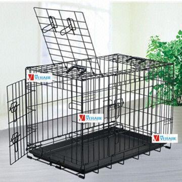 Foldable wire dog cages,dog crates,pet cages,animal cages,dog house ...