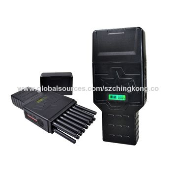 China World First Handheld 16 Bands Cell Phone Signal Jammer