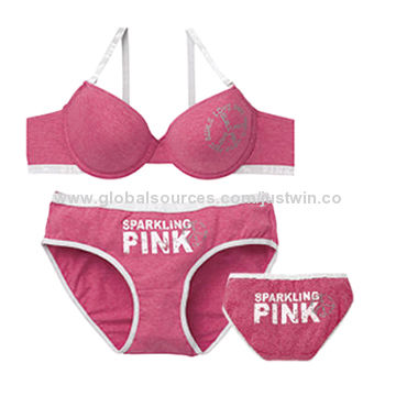 2b0ca4bee5 China Latest ladies T-shirt brief and bra sets Sexy Hot from Xiamen ...
