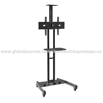 China Height Adjustable Mobile Tv Carts On Global Sources