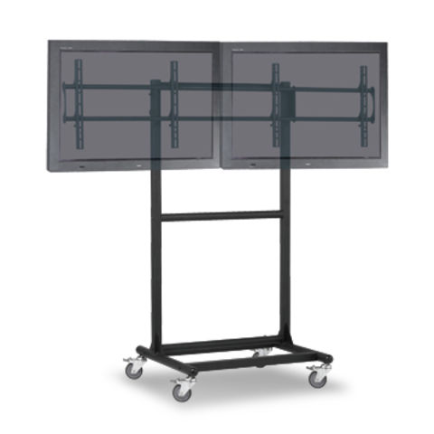 Taiwan Lcd Led Tv Stand With 2 X 52 Inch Tv Size And 150kg Loading